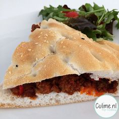 Fastfood recept Sloppy Joe
