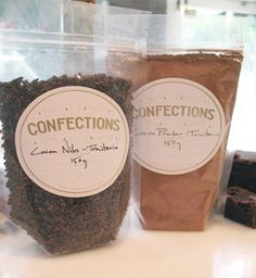 Trinitario nibs. [CacaoAtlanta] Cacao Nibs, Eye Candy, Container, Chocolate, Coffee, Drinks, Atlanta, Food, Kaffee