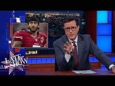 Colin Kaepernick's Bold Stance is Technically a Bold Sits | Inspired by Colin Kaepernick's protest, Late Show researchers uncovered the real reason the National Anthem gets played at sporting events.