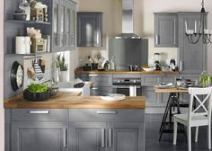 ikea gray kitchen bodbyn - Google Search