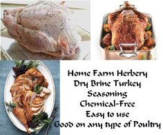 Turkey Dry Brine Seasoning, Order now..., Food items in Hart County