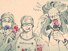 One Piece, Smoker, Bastille, Maynard