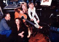 Chris and Lori Nicks with Stevie and her niece Jessica