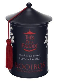 "Bientôt chez ""O Goût' thé"" Edition Prestige Rooibos Citron-Gingembre de la marque Thé de la Pagode (bios)."