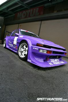 Wide violet AE86