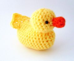 rubber duck crochet
