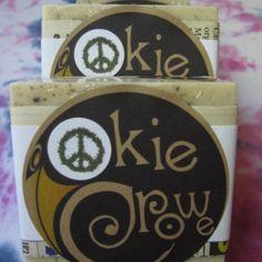Okie Crowe Stanky Hippie Soap #handmade #patchouli #cannabisflower