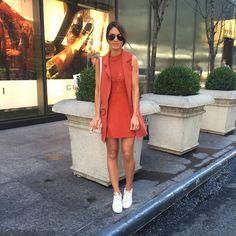 camila coelho urban chic look in nyc 9