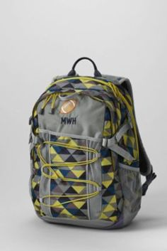 ee4fc86d55bc Print FeatherLight™ Medium Backpack from Lands  End  bicmarkit School  Backpacks