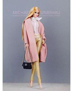 WEBSTA @ michaela_unbehau - @integrity_toys Elise Jolie #toy #toys #toyphotography #pastel #dollphotogallery #dolls #pastels #portrait #eyes #style #vogue #stylish #fashion #chanel #art #legs #instadaily #instagood #light #bright #artphotography #couture #toystagram #blonde #face #pink #glam #barbie #gold