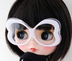 THIS IS BLYTHE - Changing Heart Glasses (white)