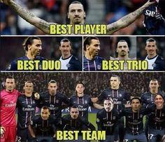 Szwedzki napastnik jest najlepszym piłkarzem, najlepszym duo, trio i najlepszą drużyną • Zlatan Ibrahimovic is The Best • Zobacz >>