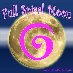 December - The Spiral Full Moon Full Moon Names, Howl At The Moon, Winter Solstice, Spiral, Reflection, December, December Daily