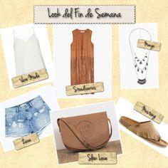 Look del Fin de Semana de Mujeralia: Shorts: Zara  Top: Vero Moda  Chaleco: Stradivarius  Bolso: Slow Love  Collar: Mango  Sandalias: Mustang