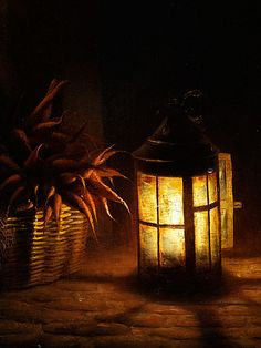 Petrus van Schendel - Nightly vegetable market by candlelight, date? - Netherland