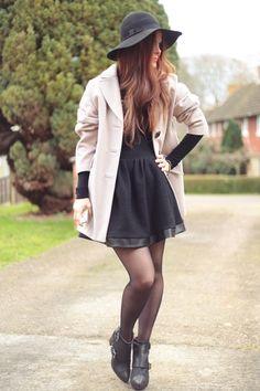 Little black dress, so classic!