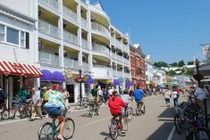 mackinac main street photo