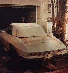 1963 Chevrolet Corvette Rear VIew - Provided by Hotrod