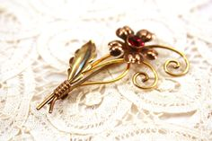 Vintage Van Dell Gold Filled and Sterling by SpiralCreations