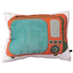 Coussin #TV #vintage #cushions #kussens | Happyzoe