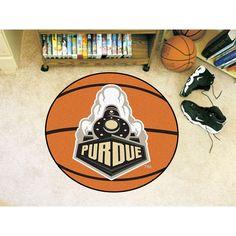 Purdue Boilermakers Basketball Round Floor Mat (29)