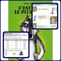 C'est moi le plus fort ! Album Jeunesse, French Resources, Lectures, Fairy Tales, Classroom, Teaching, Education, Voici, Cycle 2