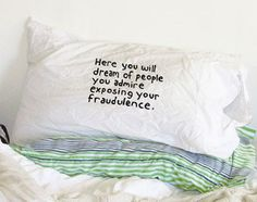 Miranda July pillowcase