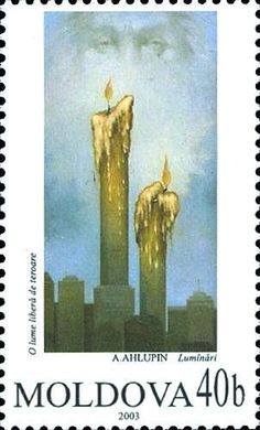 Moldova Postage Stamps (Commemorative) 2003 № 472 Two Of A Kind, Mail Art, Historian, Postage Stamps, Coins, Art Gallery, Europe, Paintings, Candles