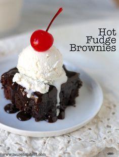 Hot fudge Brownies