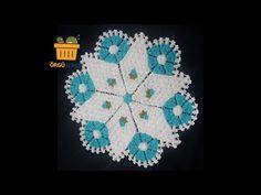 Yıldız Lif Yapımı anlatımlı  En güzel lif modelleri   how to crochet - YouTube