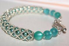 """náramok """"potrubná pošta"""" Beaded Bracelets, Jewelry, Fashion, Jewlery, Moda, Jewels, La Mode, Jewerly, Fasion"""