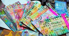 Mystic Artistic Journey: HAPPY MAIL #mailart