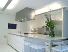 Cucina moderna / in acciaio inox / laccata CHELSEA robert timmons ...