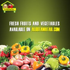If we can get people to focus on #fruits & #vegetables & more #healthy_foods, we'll be better in terms of our #healthcare situation. - Tom Vilsac  For more info visit here: www.alootamatar.com