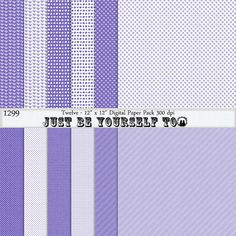 Instant Download 12 x 12 Inch Distressed Pastel Blue-Violet Collection 4 by JustBYourself2 (1299)