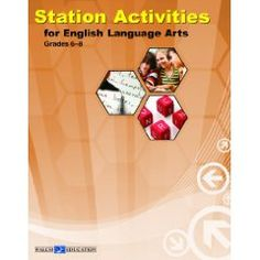 Station Activities for English Language Arts, Middle School I would use this for small group activity.