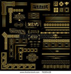 Great Gatsby Party Invitations Templates | Free Download Birthday ...