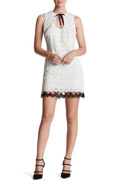 Dress the Population 'Mara' Crochet Sheath Dress