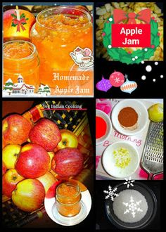 HOW TO MAKE APPLE JAM   (EASY HOME MADE APPLE JAM RECIPE WITHOUT  PECTIN - SHARING RECIPE WITH IMAGES OF EACH STEP)  #applejam #jamrecipe #easyrecipe #foodblogger #apple #indianrecipes #allnatural #pectinfree