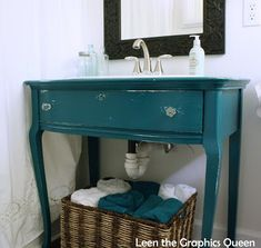 Projects Archives - Page 3 of 3 - Sand Dollar Lane Paint Color Combos, Dark Paint Colors, Wall Colors, Turquoise Color, Victorian Bathroom, House Color Schemes, Barbie Dream House, Rustic Bathrooms, Painted Furniture
