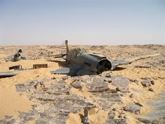 World War II Kittyhawk fighter found in Sahara    Whatever happened to the poor pilot