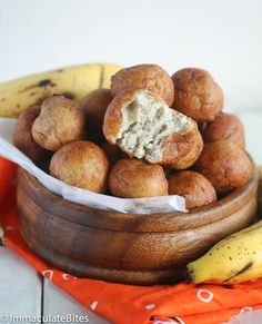 Banana Puff Puff and 6 other flavor variations - a popular African snack!