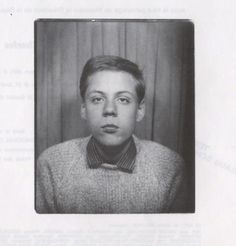 a very young Klaus Shulze
