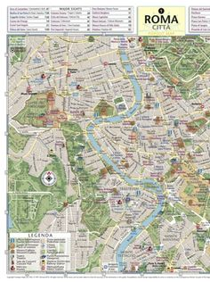 Rome Map By Georg Braun Maps Of Rome And Vatican City - Vatican city rome map