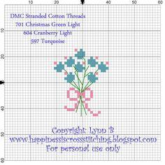 Lynn B's Freebies, small quick to stitch patterns