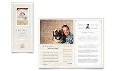 Pet Hotel & Spa Brochure Template by Brochure Design, Brochure Template, Flyer Design, Brochure Ideas, Graphic Design Templates, Graphic Design Print, Graphic Art, Pet Hotel, Hotel Spa
