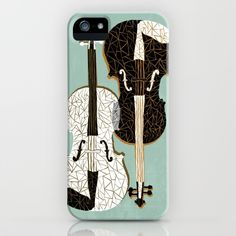 Two Violins iPhone & iPod Case
