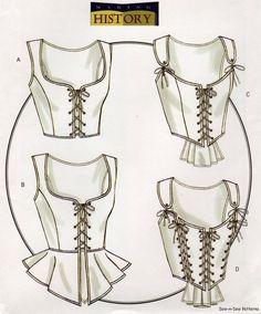 BUSTIE* Tipo de corsé, creado por Christian Dior, gracias a la posibilidad de descubrir los hombros que permitía la armadura sólida sobre el busto.