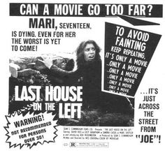 Last House on the Left-- I loooooove this movie!