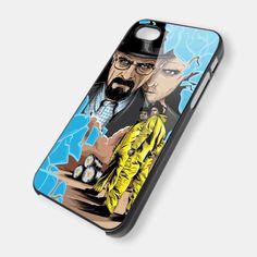 Breaking Bad iPhone 5 Case, iPhone 4 Case, iPhone 4s Case, iPhone 4 Cover, Hard iPhone 4 Case BDN13. $14.99, via Etsy.